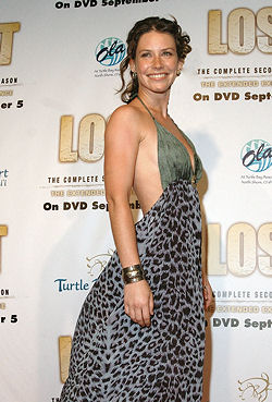Evangeline Lilly, Lost, Oahu Hawaii 2007