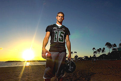 Colt Brennan, University of Hawaii Football, Honolulu 2007