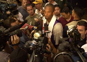 kobe bryant pre-season traingin in honolulu 2003