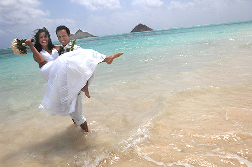 various hawaii wedding images